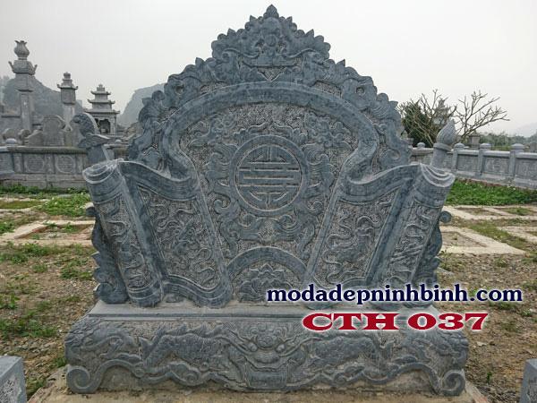 Cuốn thư đá giúp che chắn, bảo vệ lăng mộ trước khí xấu, dòng chảy năng lượng không tốt tiến vào lăng mộ