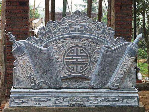 Cuốn thư đá mang một ý nghĩa tâm linh vô cùng đặc biệt