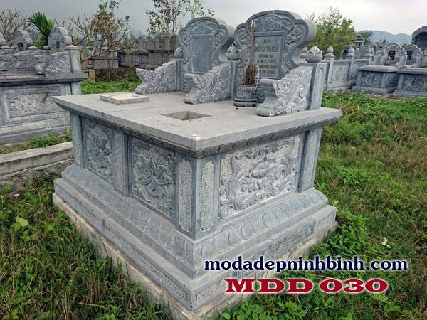 Lăng mộ đá đẹp có chất liệu được lựa chọn kỹ lưỡng
