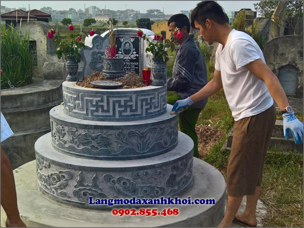 Lăng mộ đá mang lại vẻ đẹp sang trọng đậm chất Á Đông