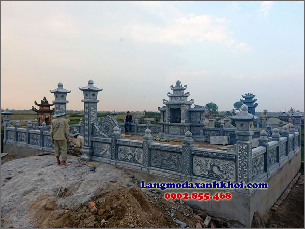 Khu lăng mộ Vụ Bản Nam Định 01