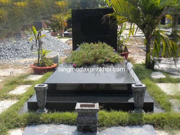 Mộ đá hoa cương granite 01