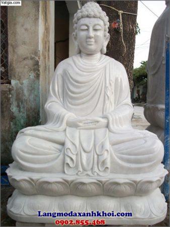 Tượng Phật Thích Ca đá MX 02