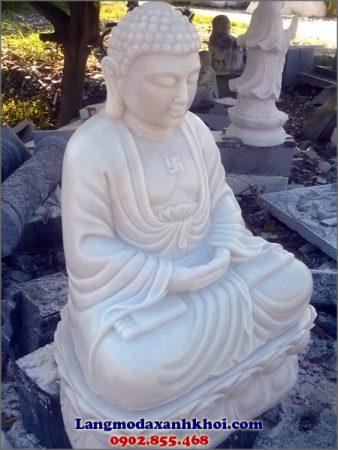 Tượng Phật Thích Ca đá MX 03