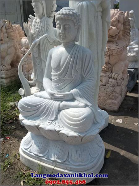 Tượng Phật Thích Ca đá MX 01