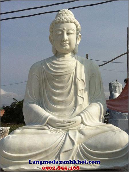 Tượng Phật Thích Ca đá MX 04