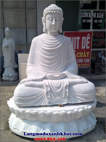 Tượng Phật Thích Ca đá MX 05