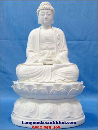 Tượng Phật A Di Đà đá MX 02