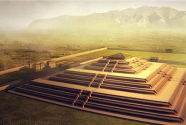 Địa thế lăng mộ Tần Thủy Hoàng